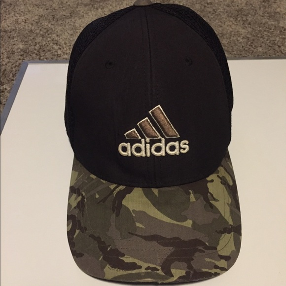 adidas Other - Adidas Tour Mesh Camouflage Fitted Golf Cap (2015) d7c8be9f930